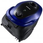Aspirator cu sac Samsung VC07M25M9WD/GE, Putere 750 W, Capacitate 2.5 l, Pet Care, Advanced Allergen Filtration, Auriu