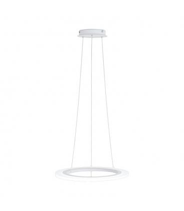 Lustra Eglo Penaforte 39271, Led x 30.5 W, Lumina calda 3000k, Aluminiu-plastic, Alb