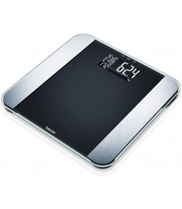 Cantar de baie Beurer BF 220 LE, Greutate maxima 180 Kg, Analiza corporala, Argintiu