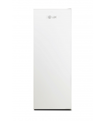 Congelator LDK LC2601, Clasa A+, Capacitate 182 l, 6 compartimente, H 145.5 cm, Alb