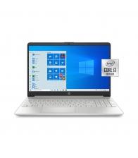"Laptop HP 15-DY1091, 15.6"", Procesor Intel Core™ i3-1005G1, Stocare 256 GB SSD, 8 GB Ram, Windows 10 S, Argintiu"
