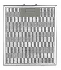 Filtru de aluminiu pentru hota LDK 6267, Dimensiuni 24,6 x 33,4 cm, Argintiu