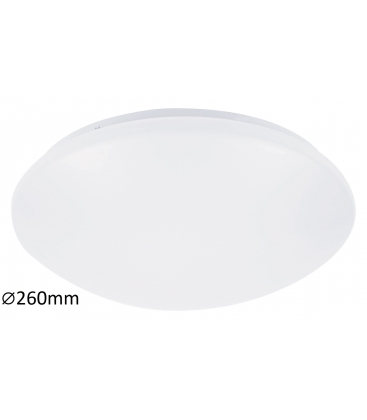 Plafoniera Rabalux Lucas 3436, LED, Diametru 38 cm, Metal, Alb