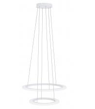 Lustra EGLO PENAFORTE 39273, 2 x LED 18.5W/30.5W, Corp din aluminiu, Alb