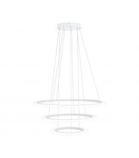 Lustra EGLO PENAFORTE 39274, 3 x LED 18.5W/30.5W/42.5W, Corp din aluminiu, Alb