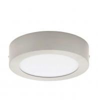 Plafoniera Eglo Fueva 32441, LED, Diametru 28 cm, Otel, Alb