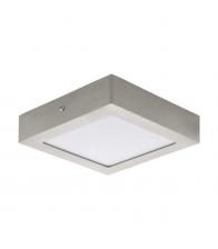 Plafoniera Eglo Fueva 94524, LED, 17 x 17 cm, Metal, Alb