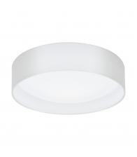 Plafoniera Eglo Pasteri 31588, LED, Diametru 32cm, Otel, Alb