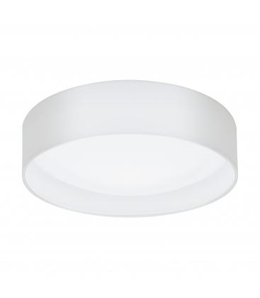 Plafoniera Eglo Palermo 95682, LED, Diametru 28cm, Otel, Alb