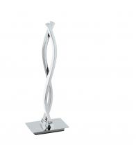 Veioza Eglo Lasana 96105, 2 x LED, Otel/aluminiu, Crom