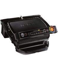 Gratar electric Tefal OptiGrill+ GC712834, Putere 2000 W, 6 programe automate, Placi antiaderente, Negru