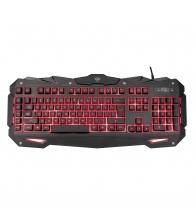 Tastatura de gaming A4tech Bloody B120, 5 nivele de iluminare, USB, Negru