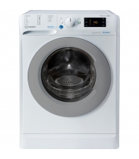 Masina de spalat cu uscator Indesit BDE 961483X WS, Clasa D, 9 Kg Spalare, 6 Kg Uscare, 16 programe, Push&Go, Alb