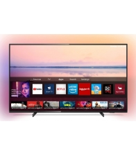 Televizor Philips 50PUS6704/12, LED, Smart TV, Clasa G, Diagonala 126 cm, Ultra HD 4K, Ambilight, Negru