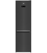 Combina frigorifica Beko RCNA406E40ZXBRN, Clasa E, Capacitate 362 l, NeoFrost™ Dual Cooling, HarvestFresh™, H 203 cm, Inox