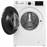 Masina de spalat rufe Beko WTV10744X, Clasa B, Capacitate 10 Kg, Inverter, SteamCure™, HomeWhiz, Aquafusion®, Alb
