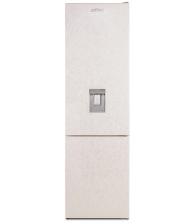 Combina frigorifica SILTAL Bella IHMCQ37CN, Clasa F, Capacitate 378 l, Dozator de apa, Less Frost, Raft vinuri, Crem marmorat
