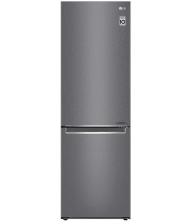 Combina frigorifica LG GBP32DSLZN, Clasa E, Capacitate 384 l, No Frost, Compresor Smart Inverter, Door Cooling, Argintiu