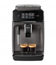 Espressor Automat Philips EP1224/00, Putere 1500 W, Capacitate 1.8 l, 15 bar, 275 g cafea, Gri