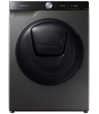 Masina de spalat rufe cu uscator Samsung WD90T754DBX/S7, Clasa E, Spalare 9kg, Uscare 6kg, 1400 rpm, Motor Inverter, Wifi, Inox