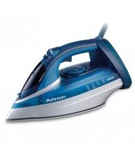 Fier de calcat Rohnson R392, Putere 2800 W, Capacitate 320 ml, Talpa ceramica, Jet de abur 180gr/min, Albastru