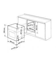 Cuptor incorporabil ZANUSSI ZOB 10401 XA, Electric, 74 litri, Clasa A+, Inox