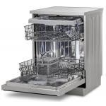 Masina de spalat vase Siltal Passione DK9713, Clasa E, Capacitate 13 seturi, 8 programe, Control touch, 60 cm, Argintiu