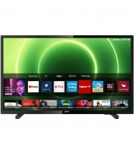 Televizor Philips 32PHS6605/12, Smart, LED, Clasa E, Diagonala 80 cm, HD Ready, HDR10, HLG, Negru