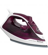 Fier de calcat Tefal Express Steam FV2835E0, Putere 2400W, Capacitate 270 ml, Jet de abur 160 g/min, Violet