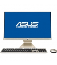 "PC All in One ASUS Vivo V241FAK-BA040D, Procesor Intel Core i3-8145U, Memorie 8GB DDR4, SSD 256GB, 23.8"" Full HD, Auriu/Negru"