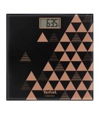 Cantar de persoane Tefal Classic Scandic Copper PP1151V0, Greutate maxima 160 Kg, Display, Negru