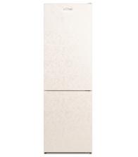 Combina frigorifica Siltal Passione IHID32NCN, Clasa F, Capacitate 331 l, No Frost, Iluminare LED, H 186 cm, Crem marmorat