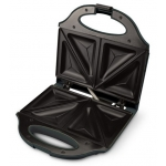 Sandwich-Maker Kalorik SM1090, Putere 750 W, Placi antiaderente, Negru/Argintiu