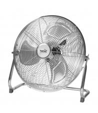 Ventilator de podea Home PV 35, Putere 70 W, Diametru 35 cm, Argintiu