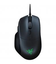 Mouse gaming Razer Basiliks Essential Black, Optic, 7 butoane programabile, 6400 dpi, Negru