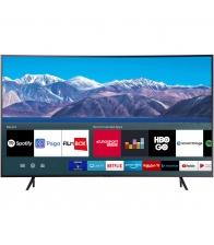 Televizor Samsung 55TU8372, LED, Smart, Curbat, Clasa G, Diagonala 138 cm, Ultra HD 4K, Crystal Processor 4K, Negru