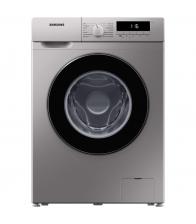 Masina de spalat rufe Samsung WW80T304MBS/LE, Slim, Clasa D, Capacitate 8 Kg, 1400 rpm, Motor Digital Inverter, Argintiu
