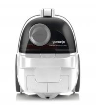 Aspirator fara sac Gorenje VCEA01GACWCY, Putere 800 W, Capacitate 2.2 l, Filtru HEPA, Soft Start, Alb