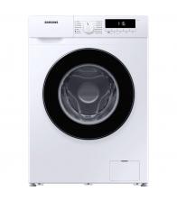 Masina de spalat rufe Slim Samsung WW90T304MBW/LE, Clasa D, Capacitate 9 Kg, 1400 rpm, Drum Clean, Motor Digital Inverter, Alb