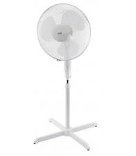 Ventilator cu picior Home SF 41, Putere 45 W, Diamtreu 40 cm, 3 trepte de putere, Inaltime reglabila, Functie oscilare, Alb