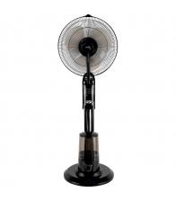 Ventilator cu umidificare Home SFM 41/BK, Putere 75 W, Diametru pale 40 cm, Capacitate apa 3.2 l, Telecomanda, Negru