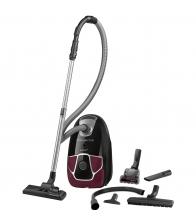 Aspirator cu sac Rowenta Silence Force Allergy+ RO6899EA, Putere 450 W, Capacitate 4.5 l, Effitech, Allergy+, Visiniu