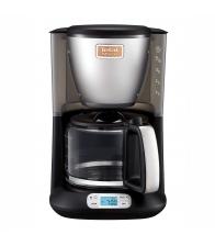 Cafetiera Tefal Perfectta CM3408, Putere 600 W, Capacitate  0.6 l, Vas sticla, Antipicurare, Mentinere la cald, Negru
