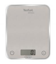 Cantar de bucatarie Tefal Optiss BC5004V2, Capacitate maxima 5 Kg, Precizie 1g, Functie tara, Afisaj LCD, Gri