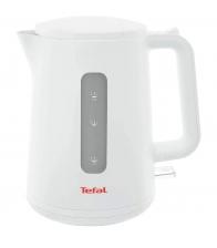 Fierbator Tefal Element KO200130, Putere 2400 W, Capacitate 1.7 l, Indicator nivel apa, Anticalcar, Baza rotativa, Alb