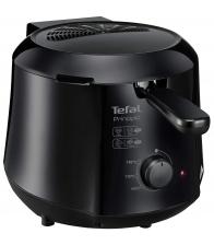 Friteuza Tefal Mega FR4800, Putere 2100 W, Capacitate 2 Kg, 5 programe, Termostat ajustabil, Alb/Gri