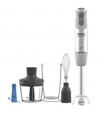 Mixer vertical Tefal Quickchef HB65KD38, Putere 1000 W, Capacitate 800 ml, Tocator 500 ml, Tel, Alb