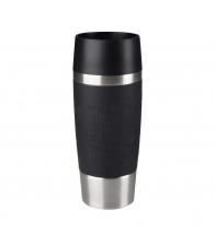 Termos Tefal Travel Mug K3086114, Capacitate 0.36 l, Capac 360 Quick Press, Albastru