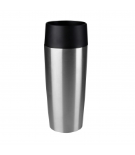 Termos Tefal Travel Mug K3081114, Capacitate 0.36 l, Capac 360 Quick Press, Negru