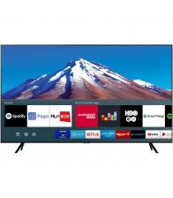 Televizor Samsung 55TU7092, LED, Smart, Clasa G, Diagonala 138 cm, Ultra HD 4K, Negru